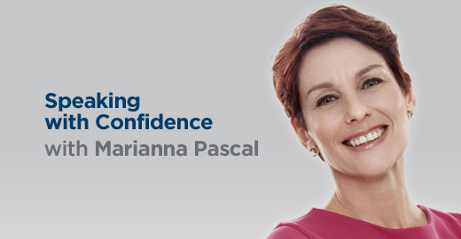Speaking with Confidence with Marianna Pascal