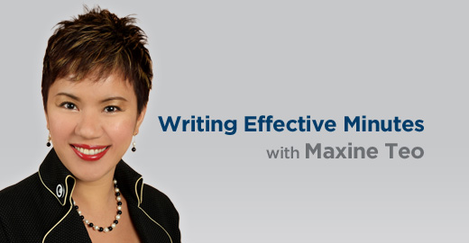 Writing Effective Minutes