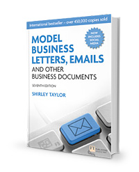 model business letters emails and other business documents seventh edition